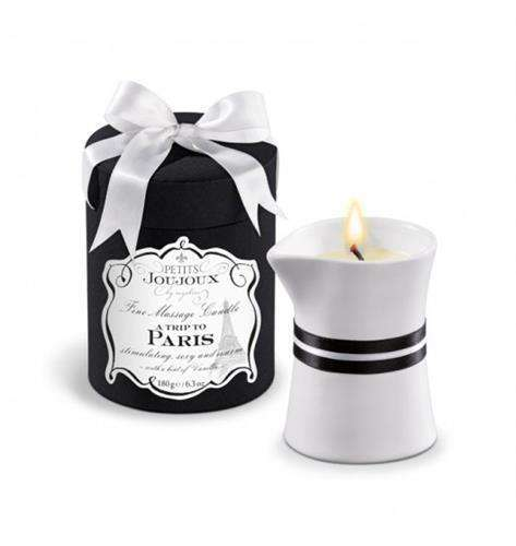 Petits Joujoux Fine Massage Candles - A trip to Paris (190 g)